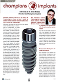 Interview du Dr Armin Nedjat, Directeur de Champions Implants